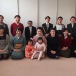 東京の文京区大塚教室の新年弾き初め会